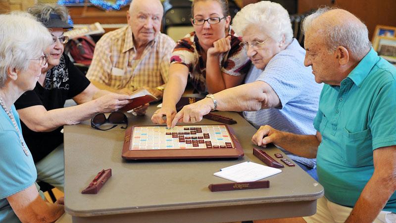 فعالیت های سالمندان