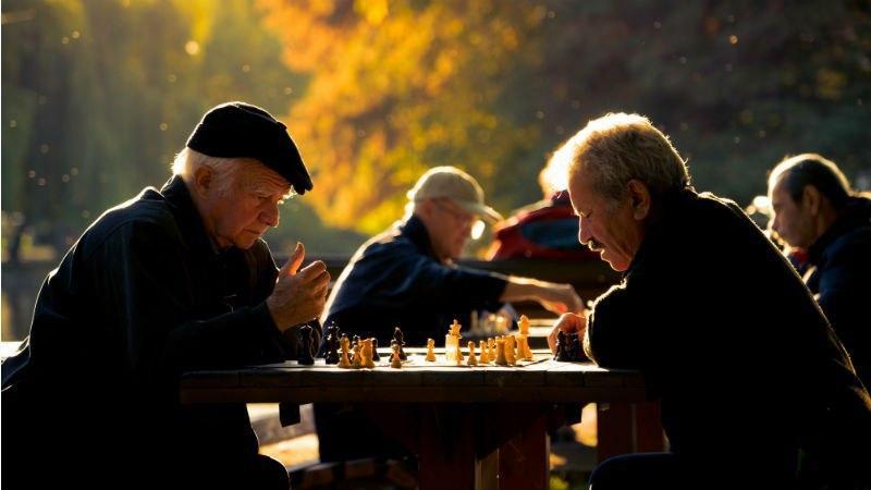 بازی های سالمندان