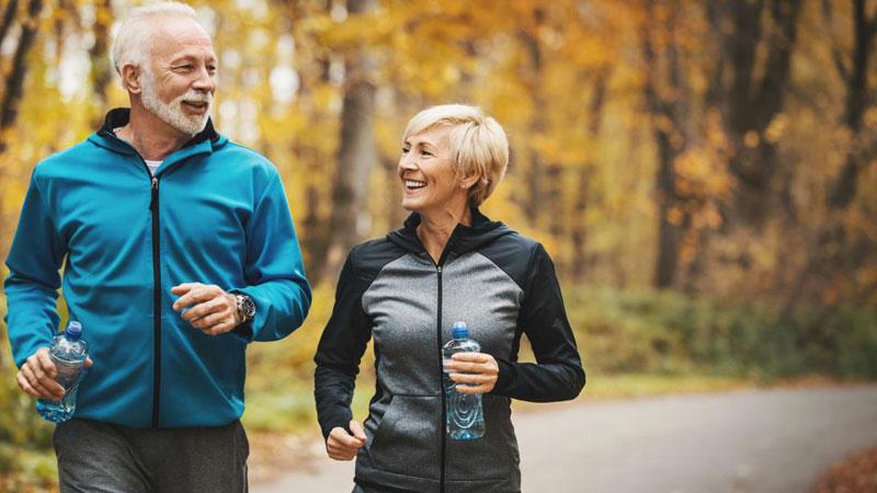 پیاده روی برای سالمندان