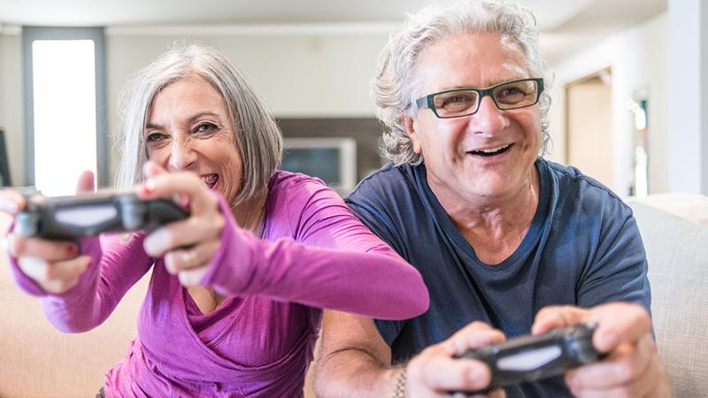 بازی برای سالمندان