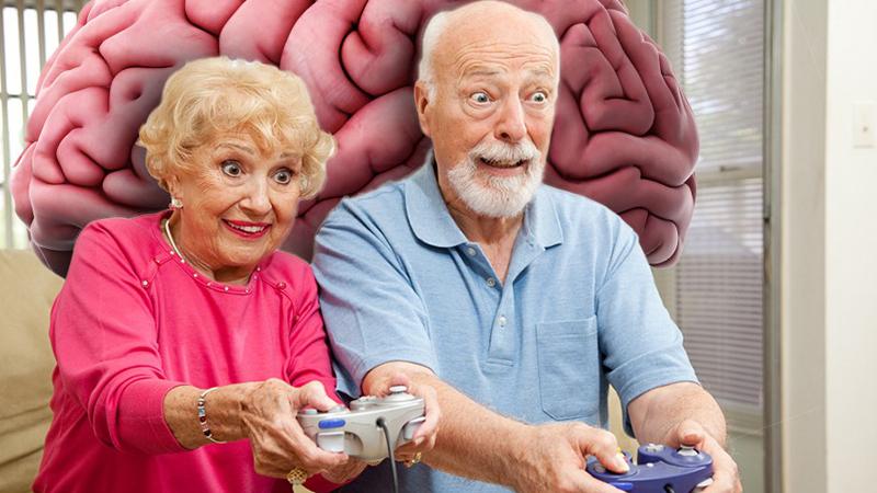 بازی های ویدئویی برای سالمندان