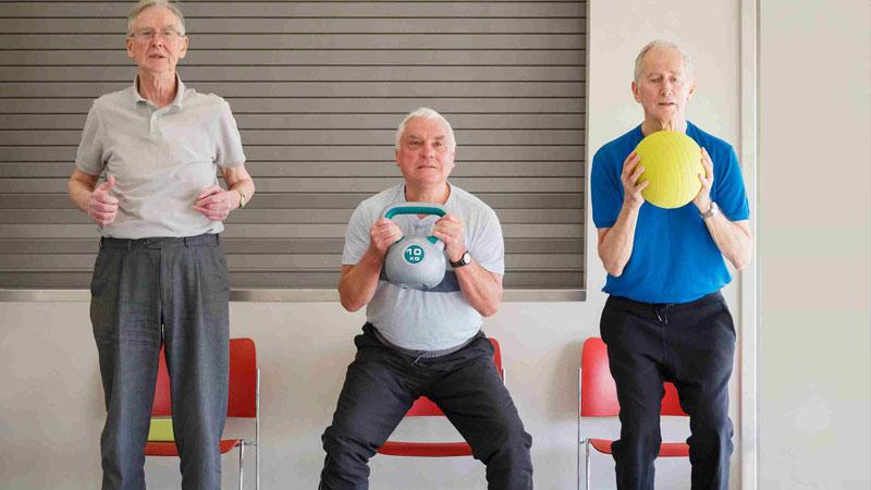 تاثیر ورزش بر ذهن سالمند