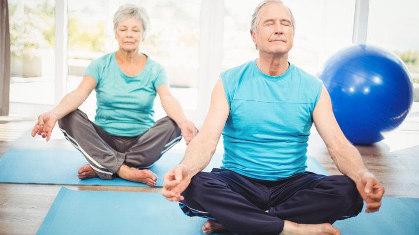 مزایای یوگا برای سالمندان