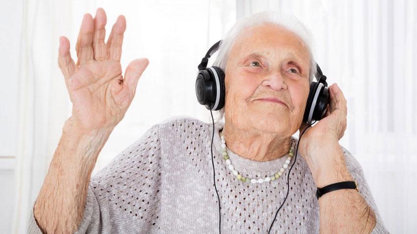 موسیقی در سالمندی