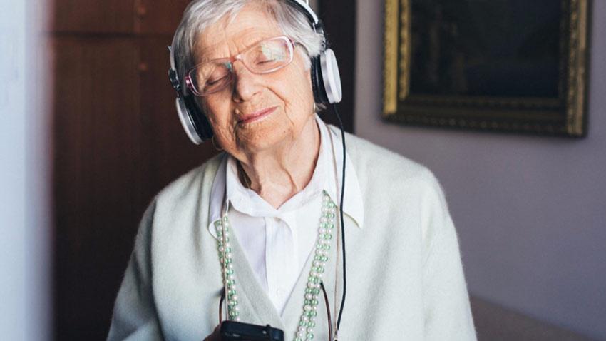 موسیقی برای سالمندان