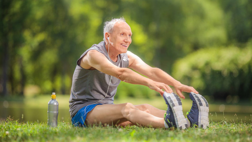 ورزشهای کششی برای سالمندان