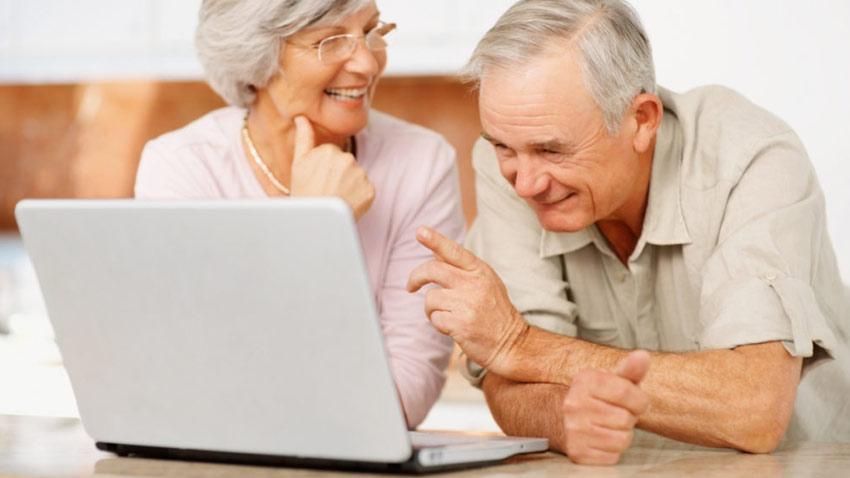 سالمندان در سوشیال مدیا