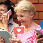 رسانه های اجتماعی برای سالمندان