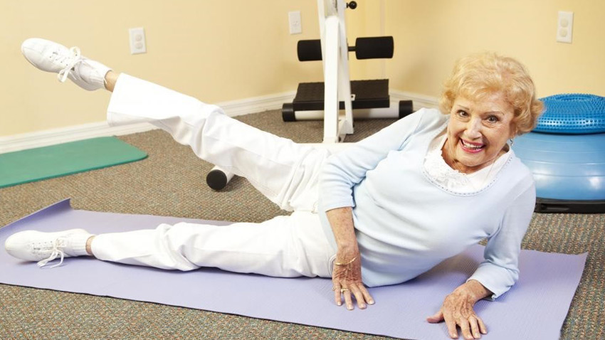 تقویت عضلات سالمندان