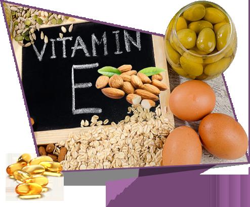 تاثیر ویتامین ای بر پیری