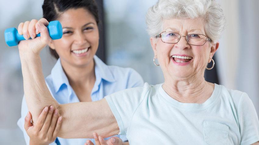 تمرین با وزنه در سالمندی