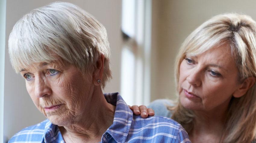 تشدید افسردگی در سالمندان