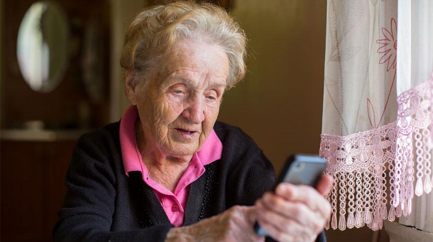 آموزش استفاده از گوشی همراه