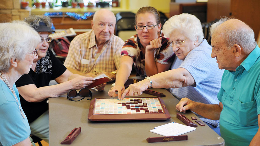 بازیهای تقویت ذهن برای سالمندان
