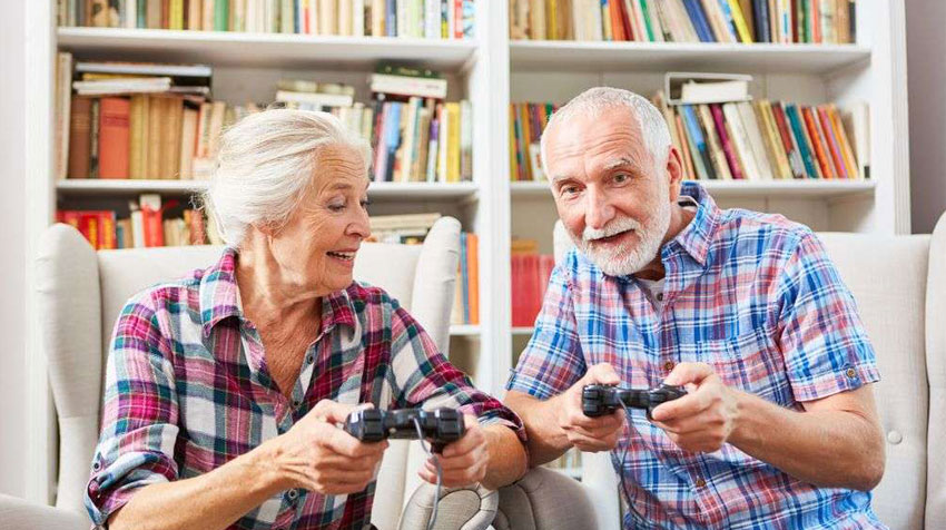 بازی های آنلاین برای افراد مسن